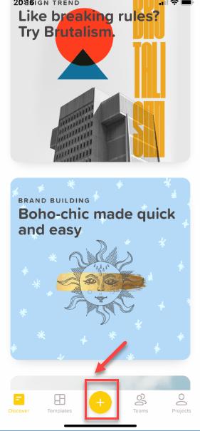 Создание шаблона для Stories в приложении Over