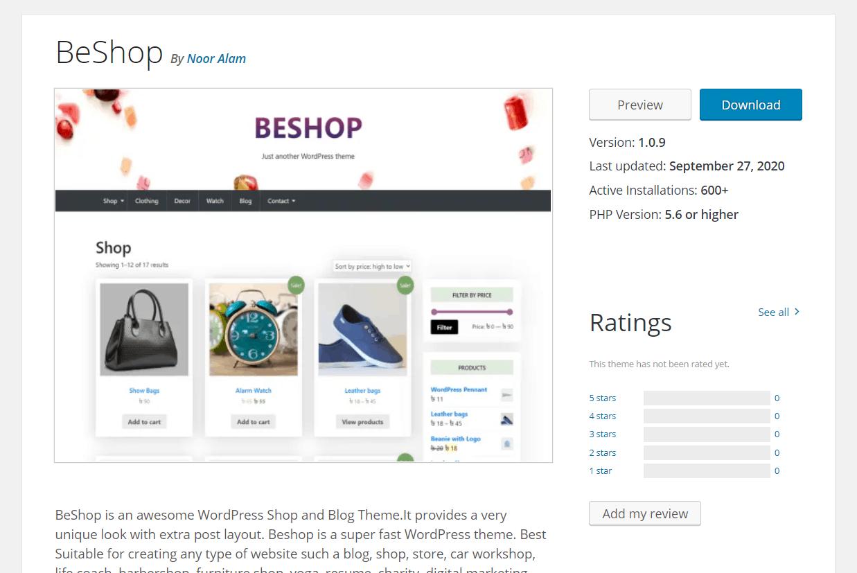 BeShop