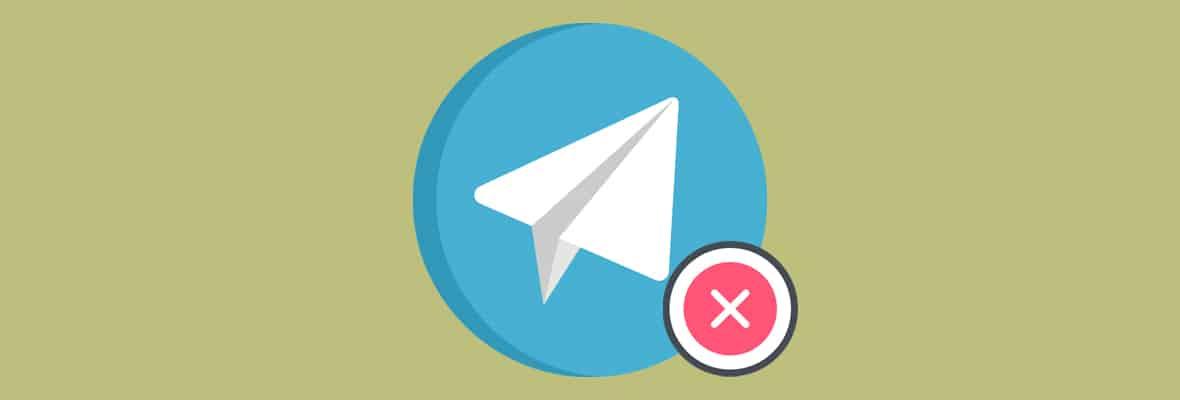 Как быстро удалить канал в Телеграме
