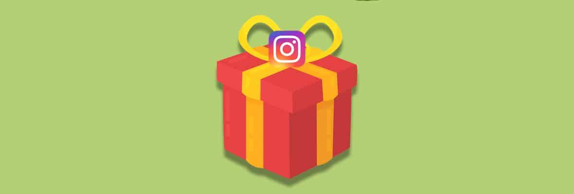 Как отправить подарок в сообщении Инстаграм