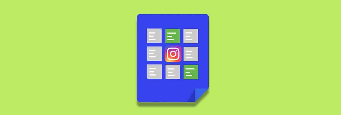 Как сделать рубрики в Инстаграм