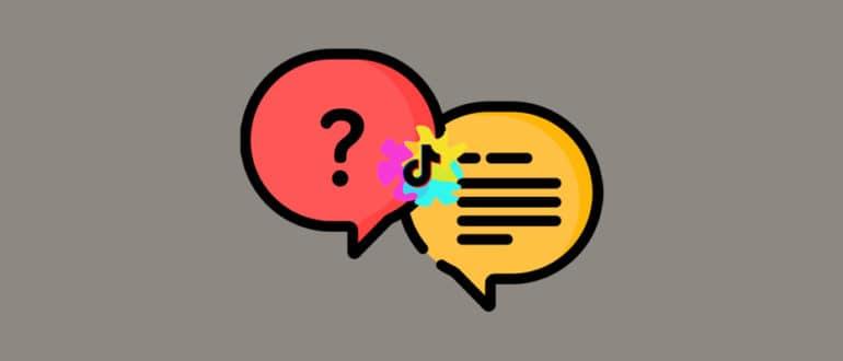 Вопросы и ответы в ТикТок: как включить, задать