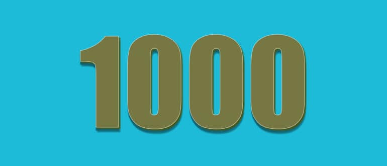 Как быстро набрать 1 000 подписчиков на Ютубе